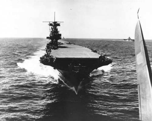 La portaerei statunitense Enterprise