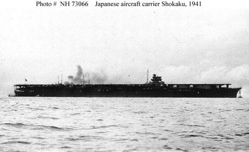 La portaerei giapponese Shokaku