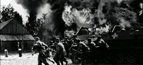 Truppe tedesche in polonia
