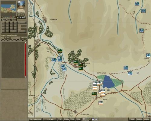 Genieri d'assalto si aprono la strada verso Est, a sud del lago Aghye