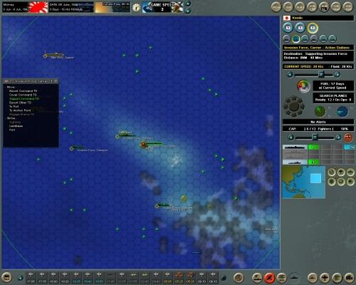 Midway investita dallo tsunami giapponese!