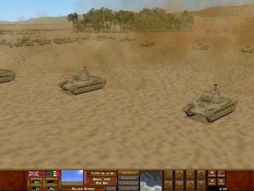 Squadrone di Matilda avanza nel deserto