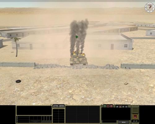 Boom! Un T-72 in meno, grazie a un missile Javelin lanciato dalla squadra sul tetto. Il Javelin è micidiale, ma ogni squadra ne ha in genere solo due o tre. Non sprecateli.