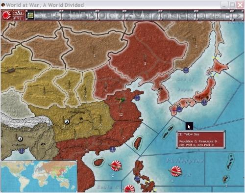 L'impero del sol levante impegnato nella conquista della Cina