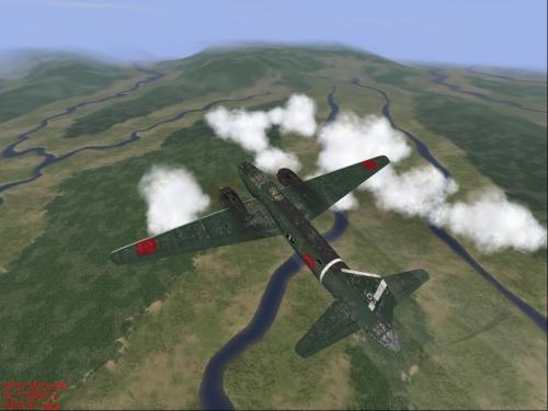 Un colabrodo o un bombardiere giapponese ?