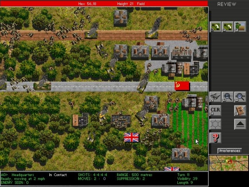 Una bella battaglia tra russi e inglesi