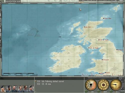 La Navigation Map