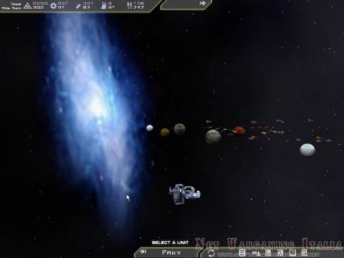 Per quanto interessante visivamente, quella galassia sullo sfondo è esattamente questo, solo uno sfondo.