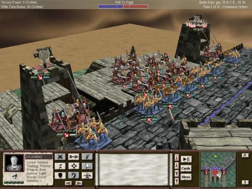 Questo assedio è una delle ambientazioni più belle del gioco