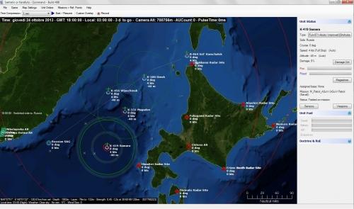 un SAG e dei sottomarini russi tentano di interdire la flotta giapponese in un ipotetico futuristico conflitto per il controllo delle Isole Sakhalin