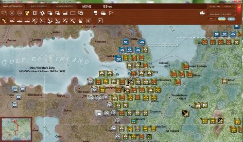Leningrado assediata! I finlandesi premono da nord mentre i tedeschi cercano di sfondare da sud e da ovest nonostante la difesa in profondità delle unità sovietiche.